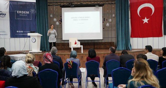 Erdem Kolejinde 'Mahremiyet Eğitimi' düzenlendi