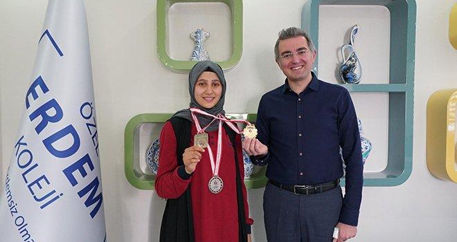 Erdemli öğrenci balkan şampiyonasında