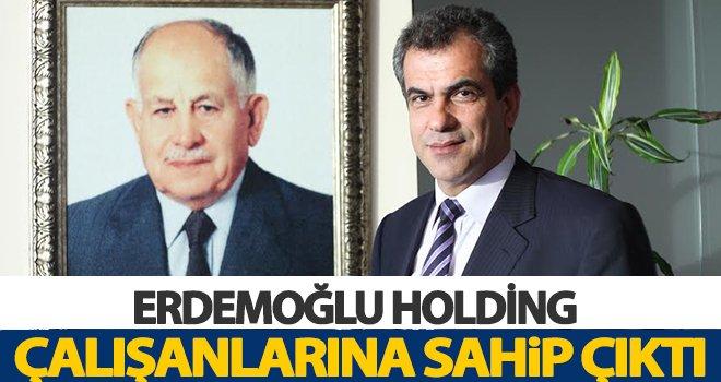 Erdemoğlu Holding'ten 3 milyon lira destek