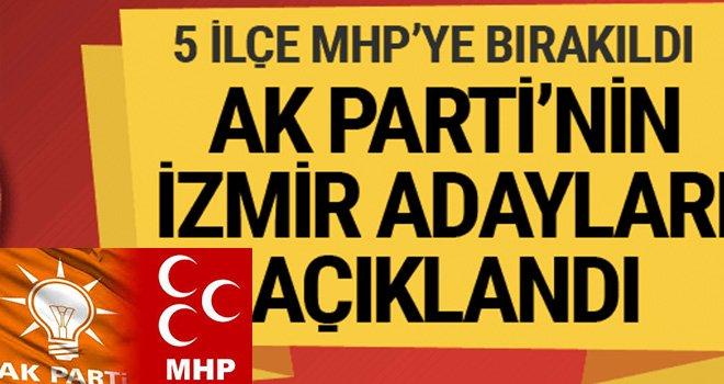 Erdoğan İzmir Adaylarını açıkladı: İşte o isimler
