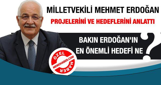 Erdoğan projelerini Memohaber'e anlattı