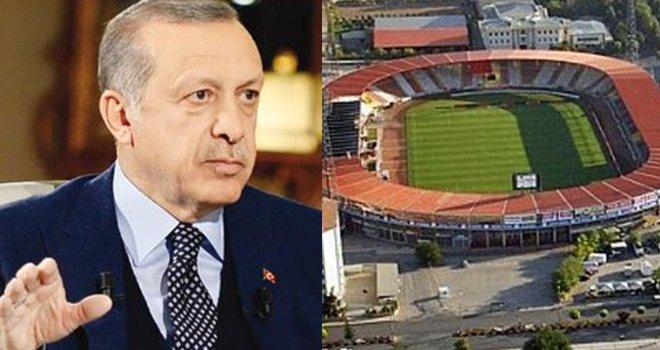 Erdoğan'dan Kamil Ocak Stadyumu'nun yeri için müjdeli haber