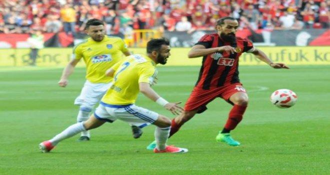 Eskişehirspor-Gaziantep Büyükşehir Belediyespor: 2-2
