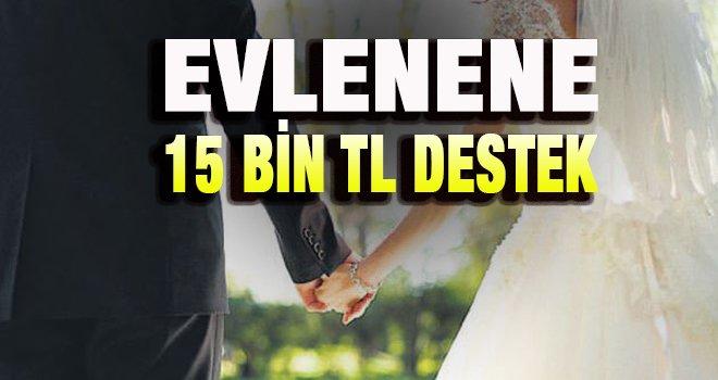 Evlenene devlet katkısı!