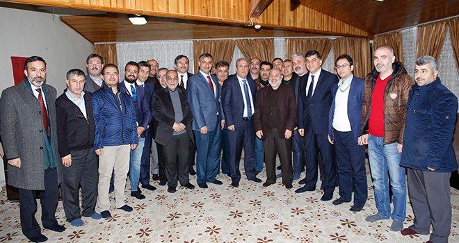 Fadıoğlu, yürütülen hizmetleri anlattı