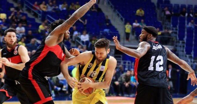 Fenerbahçe - Gaziantep Basketbol: 97-92