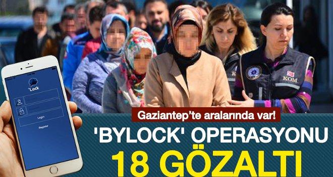 FETÖ operasyonu: 18 kişiden 4'ü tutuklandı