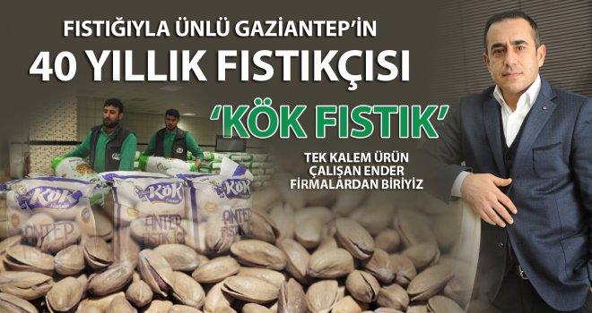 Fıstığıyla ünlü Gaziantep'in 40 yıllık fıstıkçısı 'Kök Fıstık'