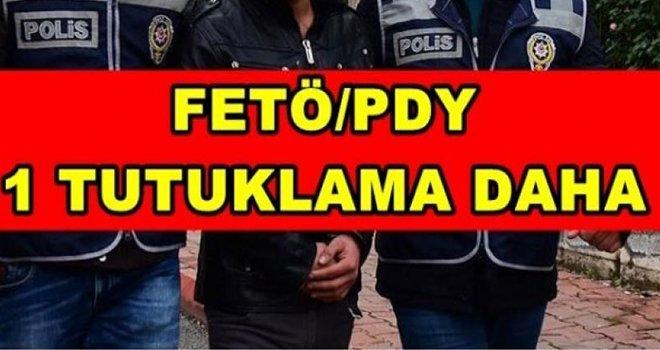 Flaş... Gaziantep'te FETÖ ve PKK'dan 1 tutuklama