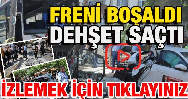 Gaziantep'te kaza! Bir çocuk canını zor kurtardı