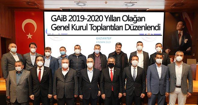 GAİB Olağan Genel Kurul Toplantıları düzenlendi
