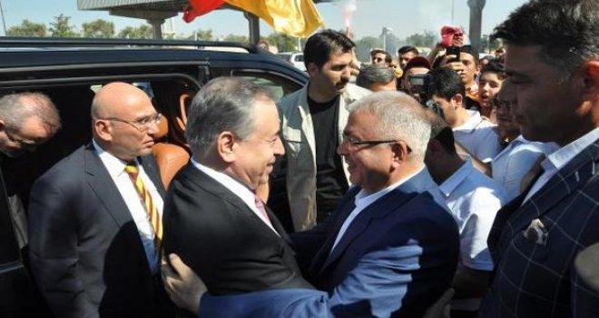 Galatasaray Başkanı Cengiz'den memleketine Gaziantep'e ziyaret