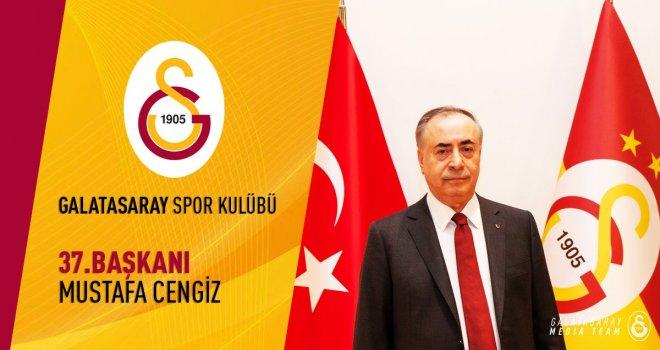 Galatasaray'ın 37. Başkanı Gaziantep'li Mustafa Cengiz oldu