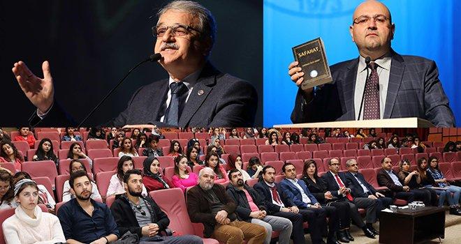 GAÜN'de İstiklal Marşı ve Mehmet Akif Ersoy konferansı