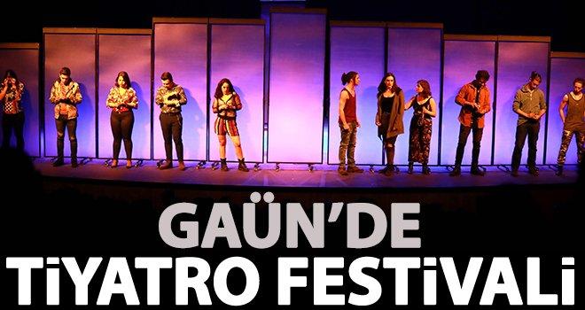 GAÜN'de Tiyatro Festivaline yoğun ilgi