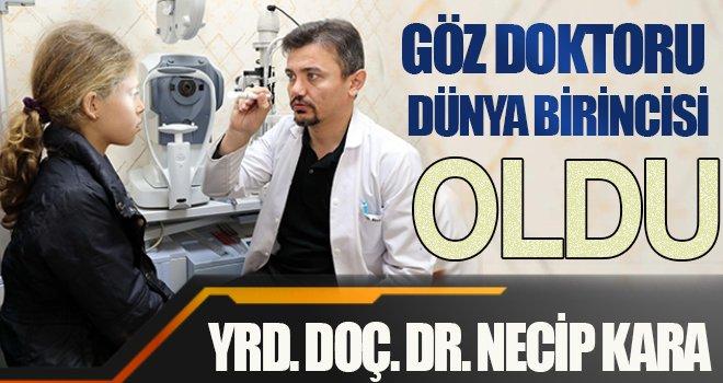 GAÜN'lü göz doktorunun büyük başarısı