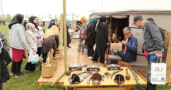 Gaziantep, 3'üncü Etnospor kültür festivalinde