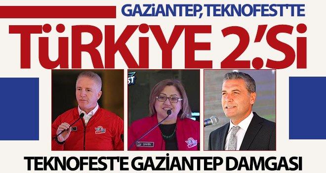 Gaziantep, 61 finalist takım ile ikinci oldu