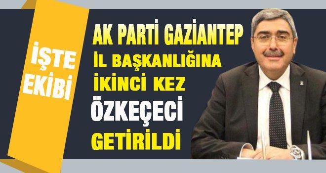 Gaziantep Ak Parti İl kongresinde liste heyacanı! işte yeni yönetim
