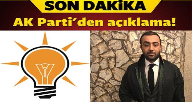 Gaziantep AK Partiden o eleştirilere