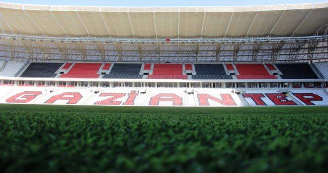 Gaziantep Arena Stadı'nda ilk maç Pazar günü