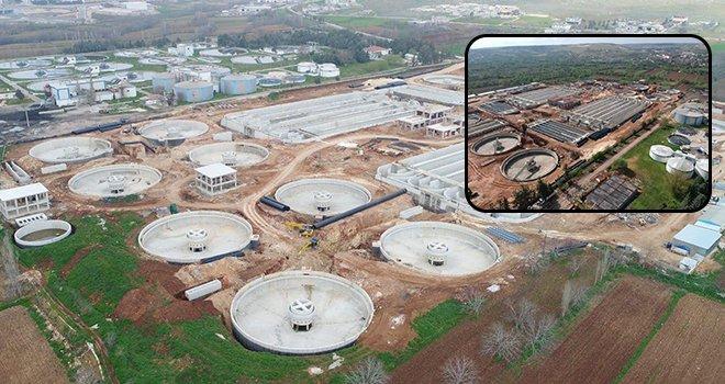 Gaziantep atıksu tesisi bu yıl sonunda bitiyor