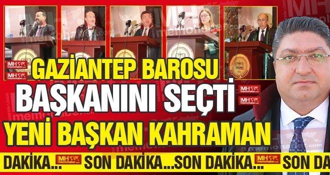 Gaziantep Barosu yeni başkanını seçti