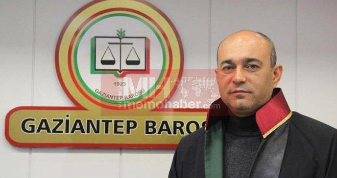 Gaziantep Barosuna Şarklı Yeniden Başkan Seçildi