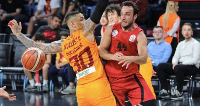 Gaziantep Basketbol, Galatasaray'a farklı  yenildi: 79-61