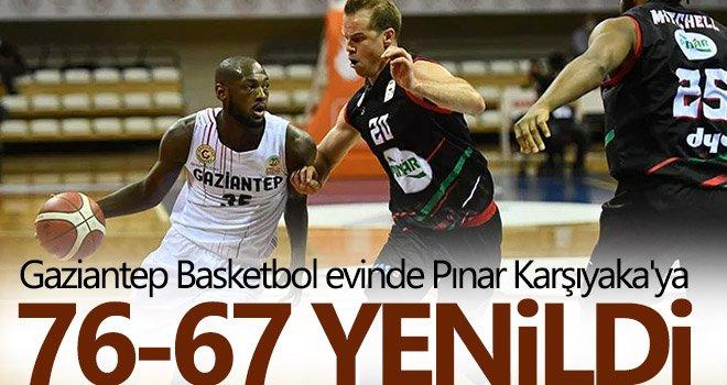 Gaziantep Basketbol, Karşıyaka'ya yenildi
