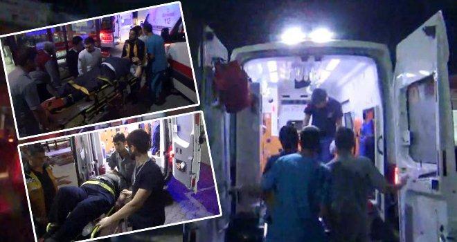 Gaziantep-Birecik yolunda kaza: 6 yaralı