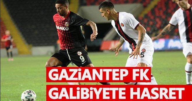 Gaziantep ekibi ilk dört maçta galibiyetle tanışamadı