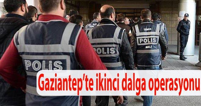 Gaziantep'te, FETÖ bağlantılı 38 polis tutuklandı