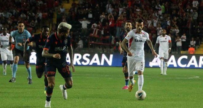 Gaziantep FK – Medipol Başakşehir FK'ne boyun eğdi : 1-2