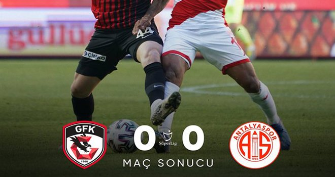 Gaziantep FK: 0 - FT Antalyaspor: 0