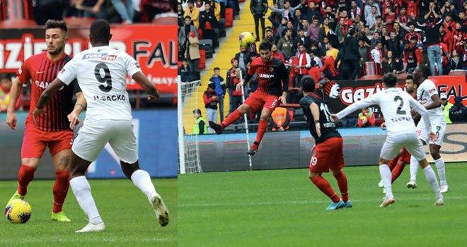Denizlispor deplasmanda Gaziantepspor FK'nü kekledi : 2-1