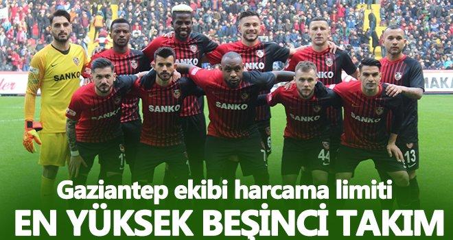Gaziantep FK, harcama limitinde şampiyon takımlarla yarışıyor