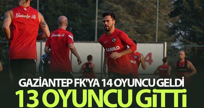 Gaziantep FK, kendini yeniledi