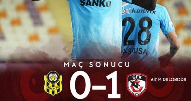 Gaziantep FK, Malatyaspor'u 1-0 mağlup etti