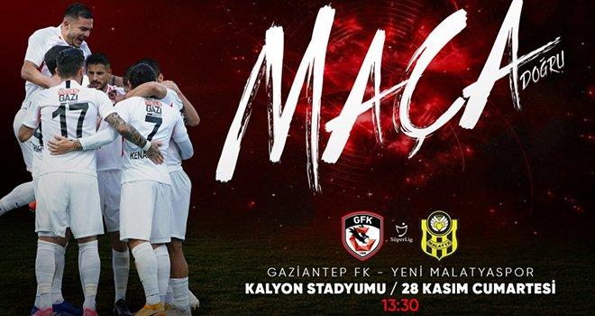 Gaziantep FK, Malatyaspor'u ağırlıyor