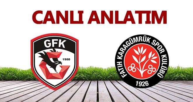Gaziantep FK, kendi evinde bir gol yedi