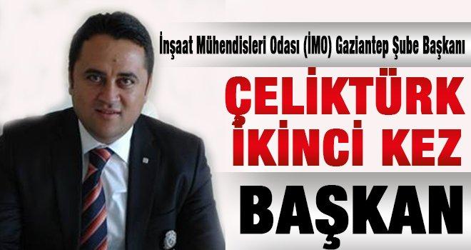Gaziantep İnşaat Mühendisleri başkanlık için Çeliktürk dediler...