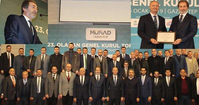 Gaziantep MÜSİAD'da Çelenk Güven Tazeledi