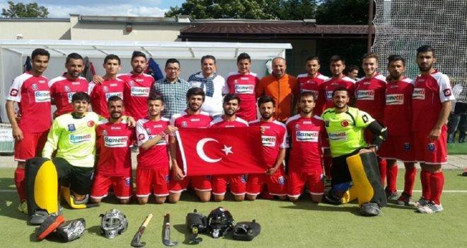 Gaziantep Polis Gücü hokeyde Avrupa ikincisi
