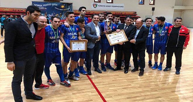 Gaziantep Polis Gücü namağlup şampiyon