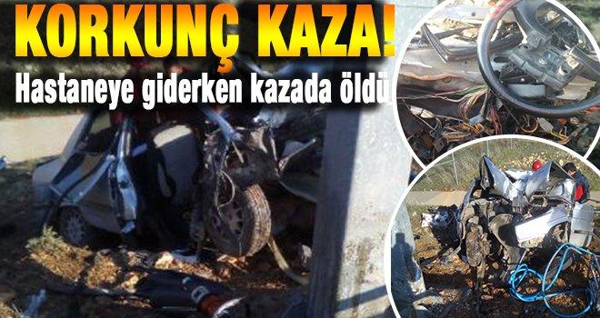 Gaziantep-Şanlıurfa karayolunda kaza: 1 ölü, 2 yaralı