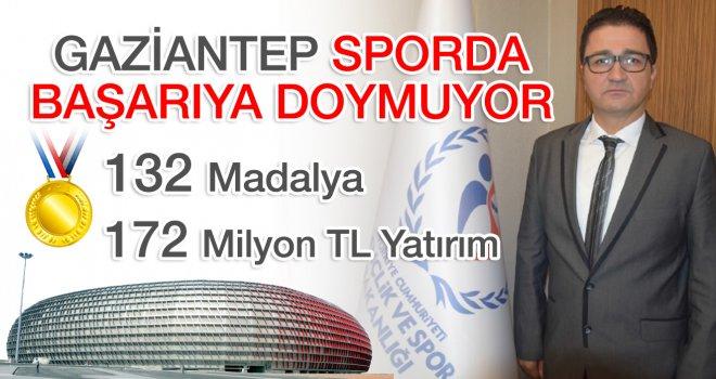 GAZİANTEP SPORDA BAŞARIYA DOYMUYOR