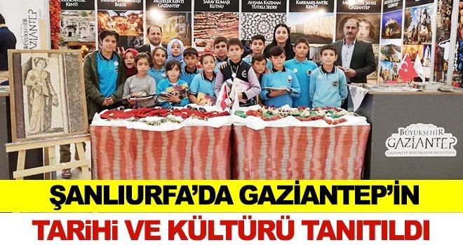 Gaziantep standında, kentin tarihi ve turistik yerleri tanıtıldı