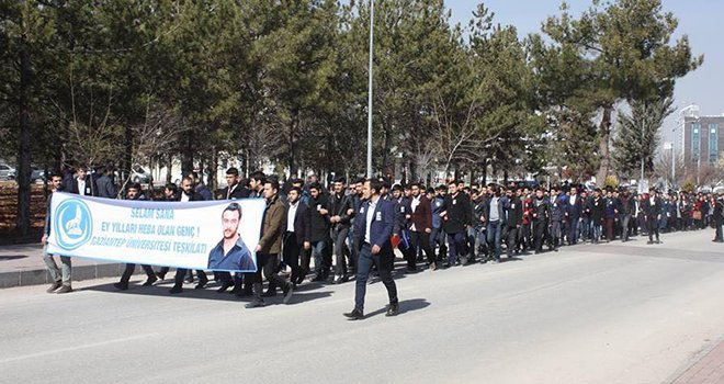 Gaziantep Ülkü Ocakları, Fırat Yılmaz Çakıroğlu'nu andı