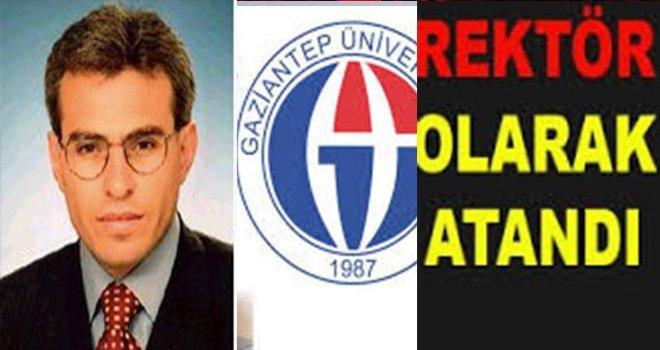Gaziantep Üniversitesinin yeni rektörü Özaydın